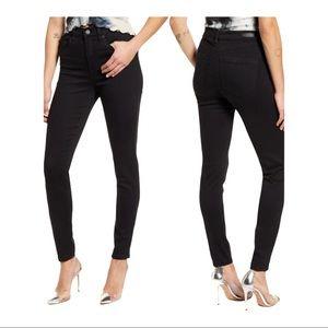 BLANK NYC Sz 28 Black Skinny Jeans